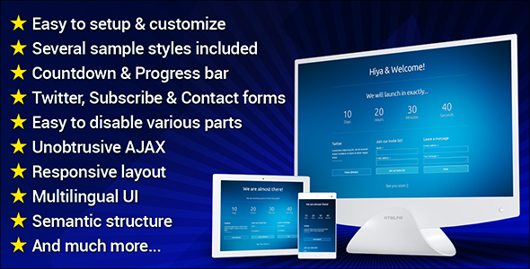 Website Under Construction - CodeCanyon Item for Sale