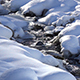 River in Snow - VideoHive Item for Sale
