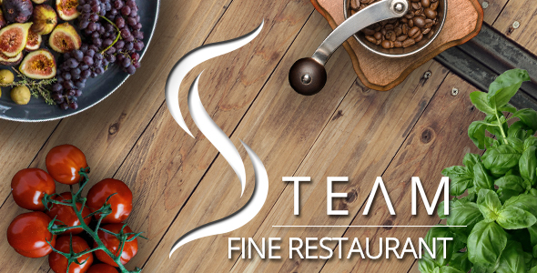 The Steam – Fine Restaurant & Pub WordPress Theme