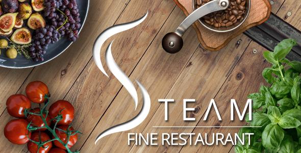 The Steam – Fine Restaurant & Pub WordPress Theme
