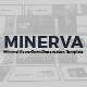Minerva Minimal PowerPoint Presentation Template - GraphicRiver Item for Sale