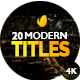 Modern Promo Titles Pack - VideoHive Item for Sale