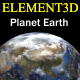 Element3D - Planet Earth - 3DOcean Item for Sale
