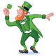 St. Patrick's Day Character with Clover - GraphicRiver Item for Sale