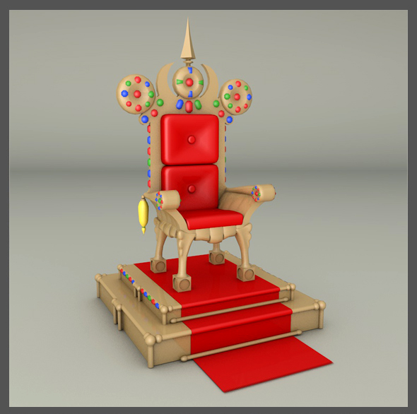 Throne - 3DOcean Item for Sale