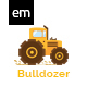 Bulldozer Construction Keynote Presentation - GraphicRiver Item for Sale