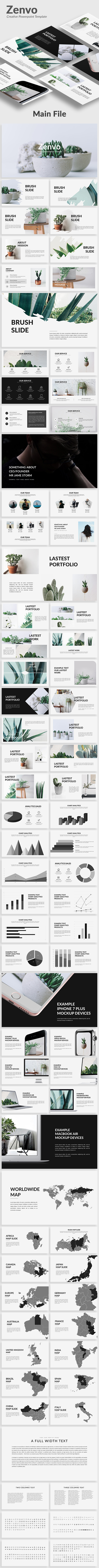 Zenvo - Creative Powerpoint Template - Creative PowerPoint Templates