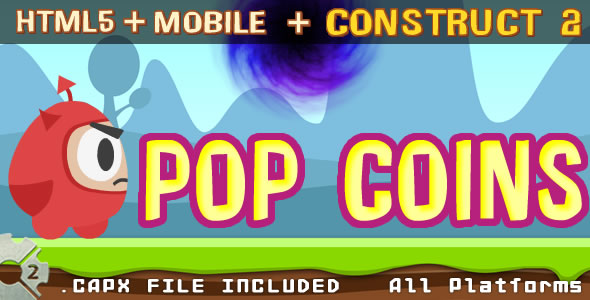 POP COINS - html + (.capx) - CodeCanyon Item for Sale