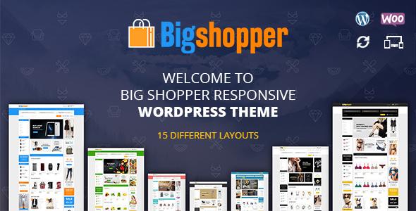 BigShopper – Multipurpose WooCommerce Theme