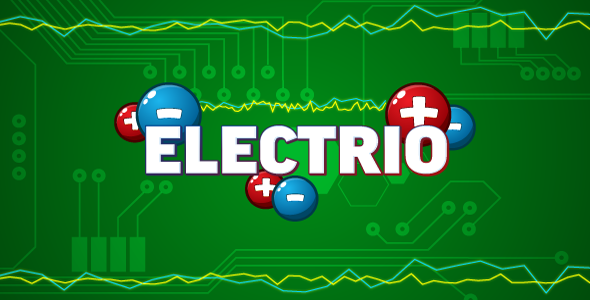 Electrio - HTML5 logic game. Construct 2 (.capx) - CodeCanyon Item for Sale