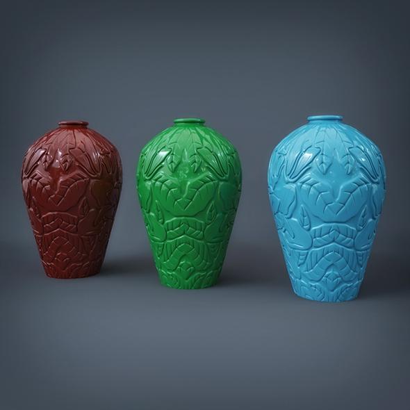 Vases - 3DOcean Item for Sale