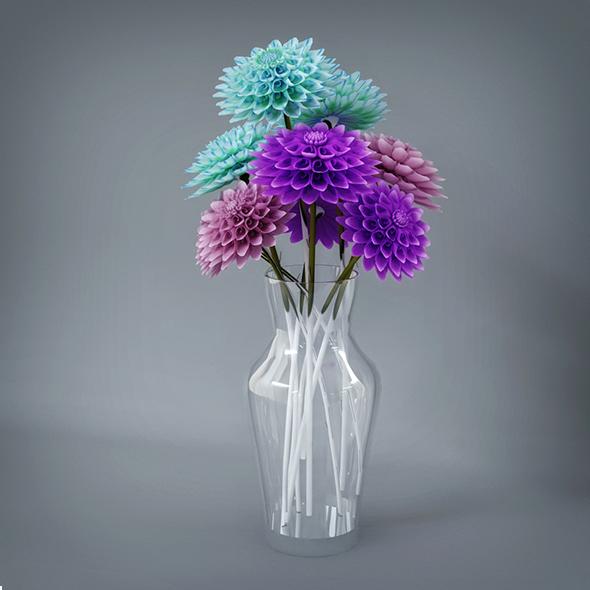 Flower Pot - 3DOcean Item for Sale