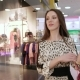 Beautiful Young Woman in Shopping Mall Doing Her Shopping - VideoHive Item for Sale
