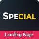 Special - Landing Page HTML Pack - ThemeForest Item for Sale