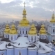 St. Michael's Golden-Domed Monastery is a Functioning Monastery in Kiev, Ukraine