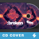 Broken Portal - Electronic Music CD Cover Artwork Template - GraphicRiver Item for Sale