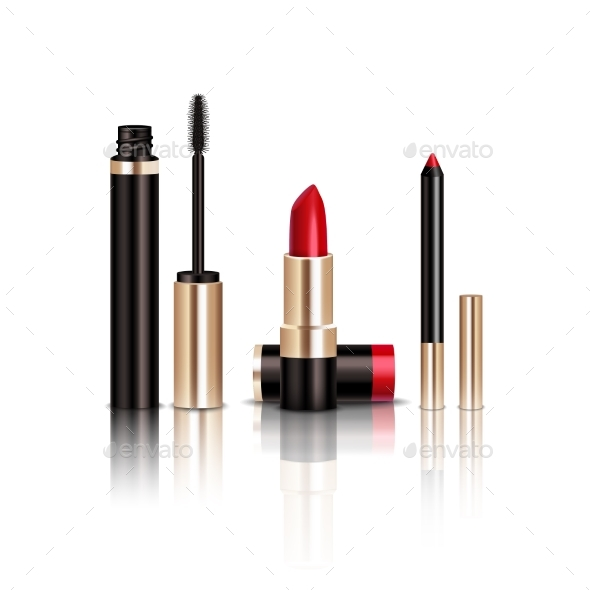 Makeup Items Set - Man-made Objects Objects