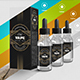Vape Smoking Dropper Bottle Mockup Liquid - GraphicRiver Item for Sale