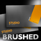 Brushed Aluminium Business Card - GraphicRiver Item for Sale