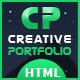 Creative Portfolio HTML Template - ThemeForest Item for Sale