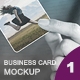 Business Card Mockup - GraphicRiver Item for Sale