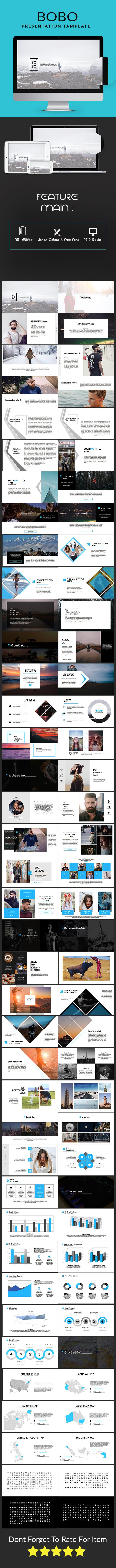 Bobo Multipurpose Keynote - Keynote Templates Presentation Templates