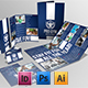 4 Pages Brochure + Trifold + Business Card - GraphicRiver Item for Sale