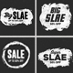 Chalk Sale Banners Label