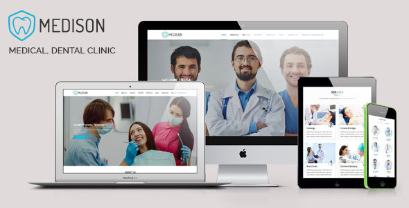 Medison – Medical, Dental Clinic HTML Template