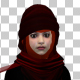 Beautiful Woman With Hijab - VideoHive Item for Sale
