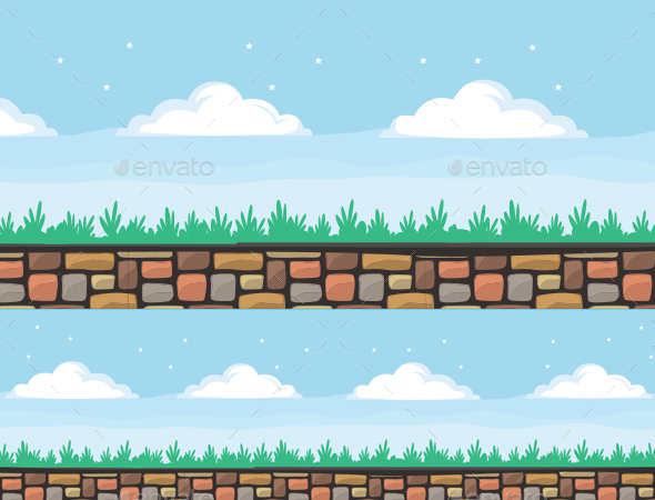 Easter Background - Backgrounds Game Assets