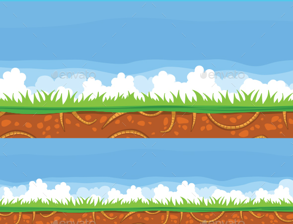 Earth Background - Backgrounds Game Assets