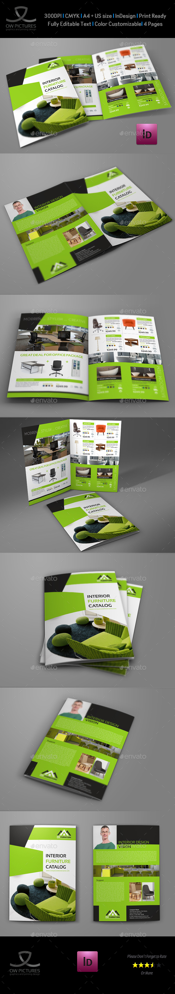 Furniture Products Catalog Bi-Fold Brochure - Catalogs Brochures