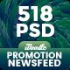 [Biggest Bundle] - Promotion Facebook Banner Ads - 518 PSD [02 Size Each] - GraphicRiver Item for Sale
