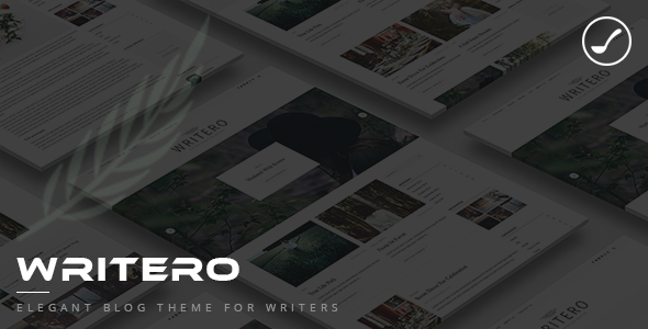 Writero – Elegant WordPress Blog Theme