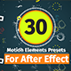 30 Motion Element Presets Pack Nulled