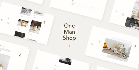 OneManShop One – WordPress WooCommerce Theme For Small Personal Shops