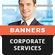 Corporate Services Banners