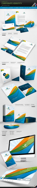 Corporate Identity - Bird Flight - Stationery Print Templates