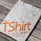 T-Shirt Mock-up V-Neck - GraphicRiver Item for Sale