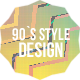 90's Style Design Opener Package - VideoHive Item for Sale
