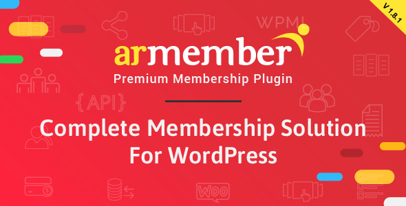 ARMember - Complete WordPress Membership System - CodeCanyon Item for Sale