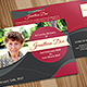 Funeral Program Post Card Template 05 - GraphicRiver Item for Sale