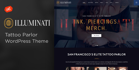 30+ Most Creative WordPress Themes for Artists 2019 7