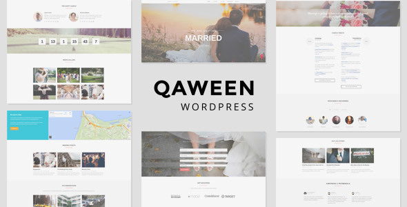 Qaween - Wedding WordPress Theme - Wedding WordPress