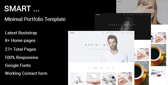 Smart – Minimal Portfolio Template