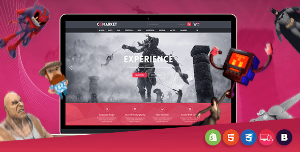 CGMarket – Sectioned Responsive Shopify Theme