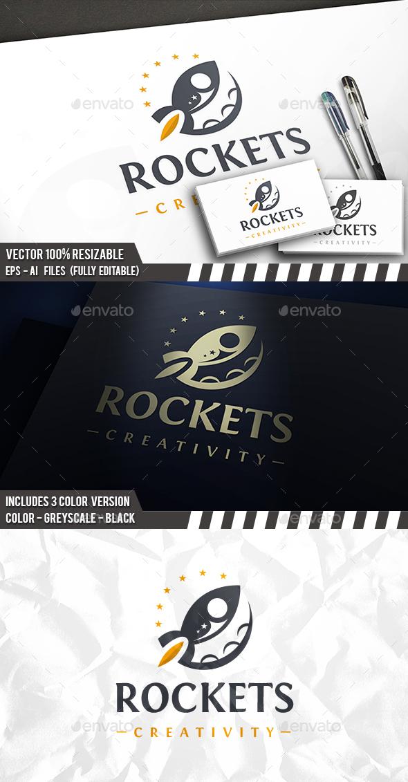 Rocket Space Logo - Company Logo Templates