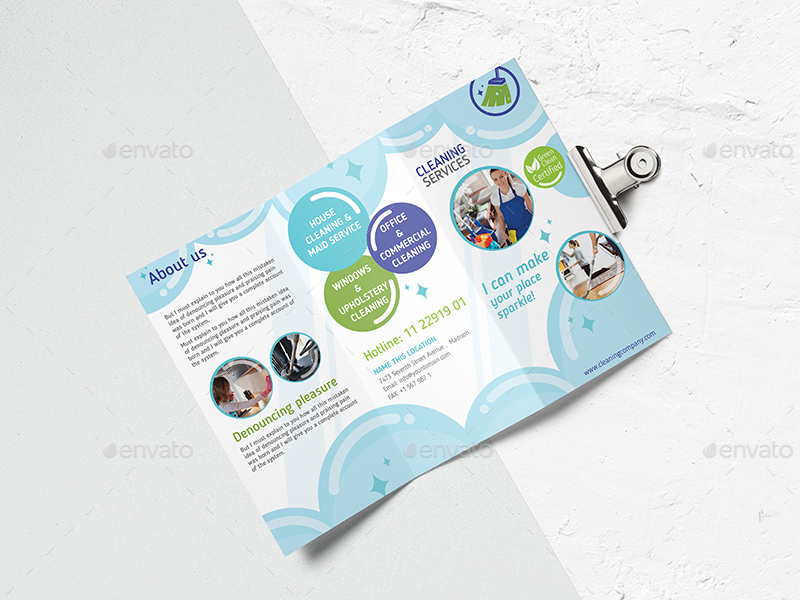 Cleaning Service Template By Wutip2 Graphicriver