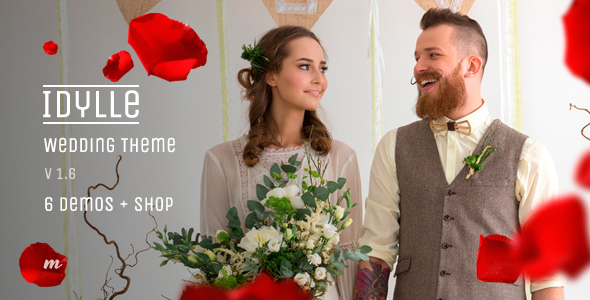 Wedding Theme | Idylle Wedding - Wedding WordPress